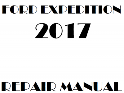 Ford Expedition Repair Manuals