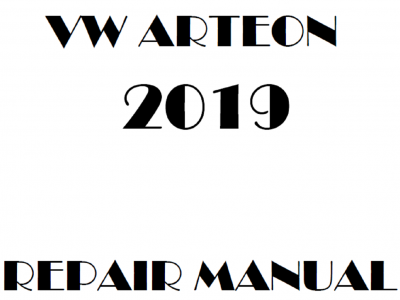 Volkswagen Arteon repair manual