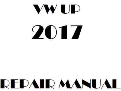 Volkswagen Up repair manual