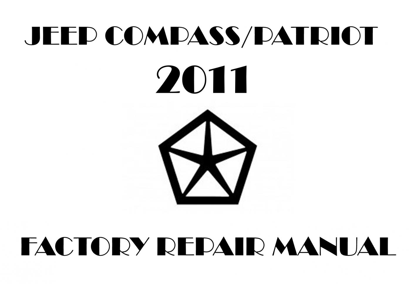 2011 Jeep Compass  Patriot Repair Manual