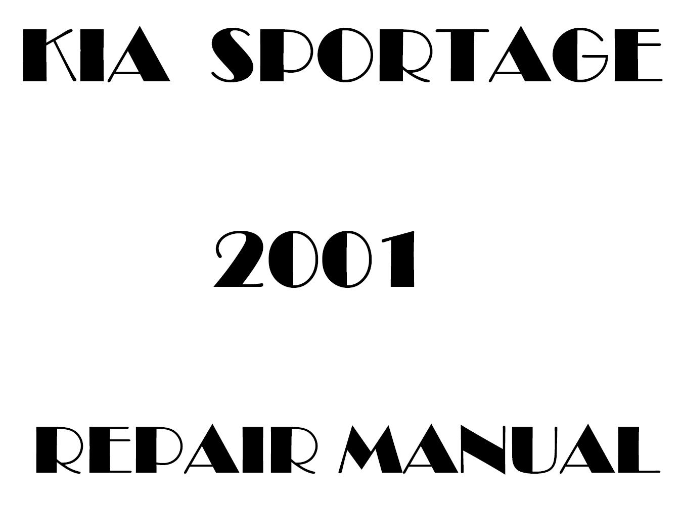 99 kia sportage repair manual pdf download