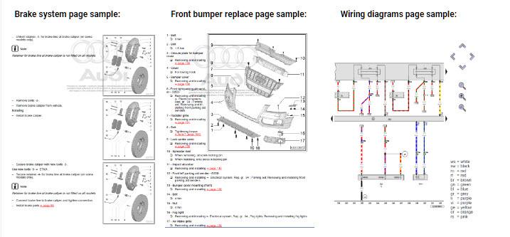 audi a4 b7 2004 2008 factory repair manual. Black Bedroom Furniture Sets. Home Design Ideas