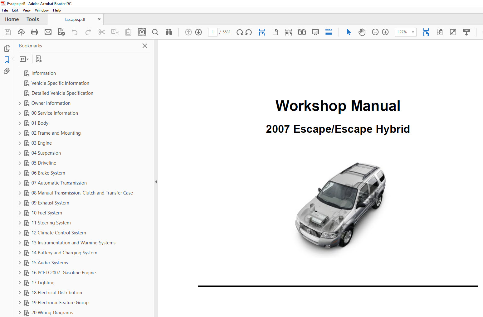 2004 Ford Escape Repair Manual Manual Guide