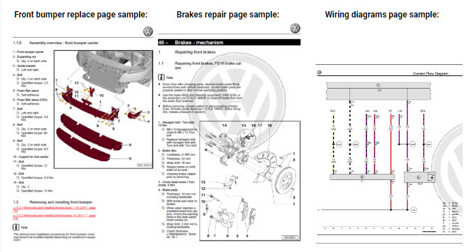 volkswagen amarok wiring diagram volkswagen amarok 2011-2018 factory repair manual