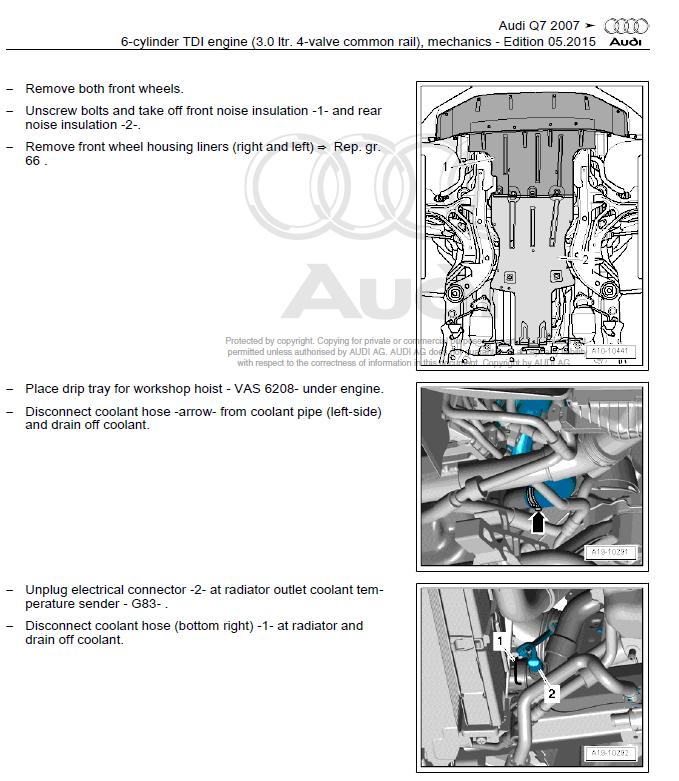 Audi Q7 2005 2009 Factory Repair Manual Factory Manual